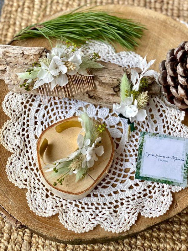 Kit cortege mariage Sophie Gomes de Miranda Elise Martimort