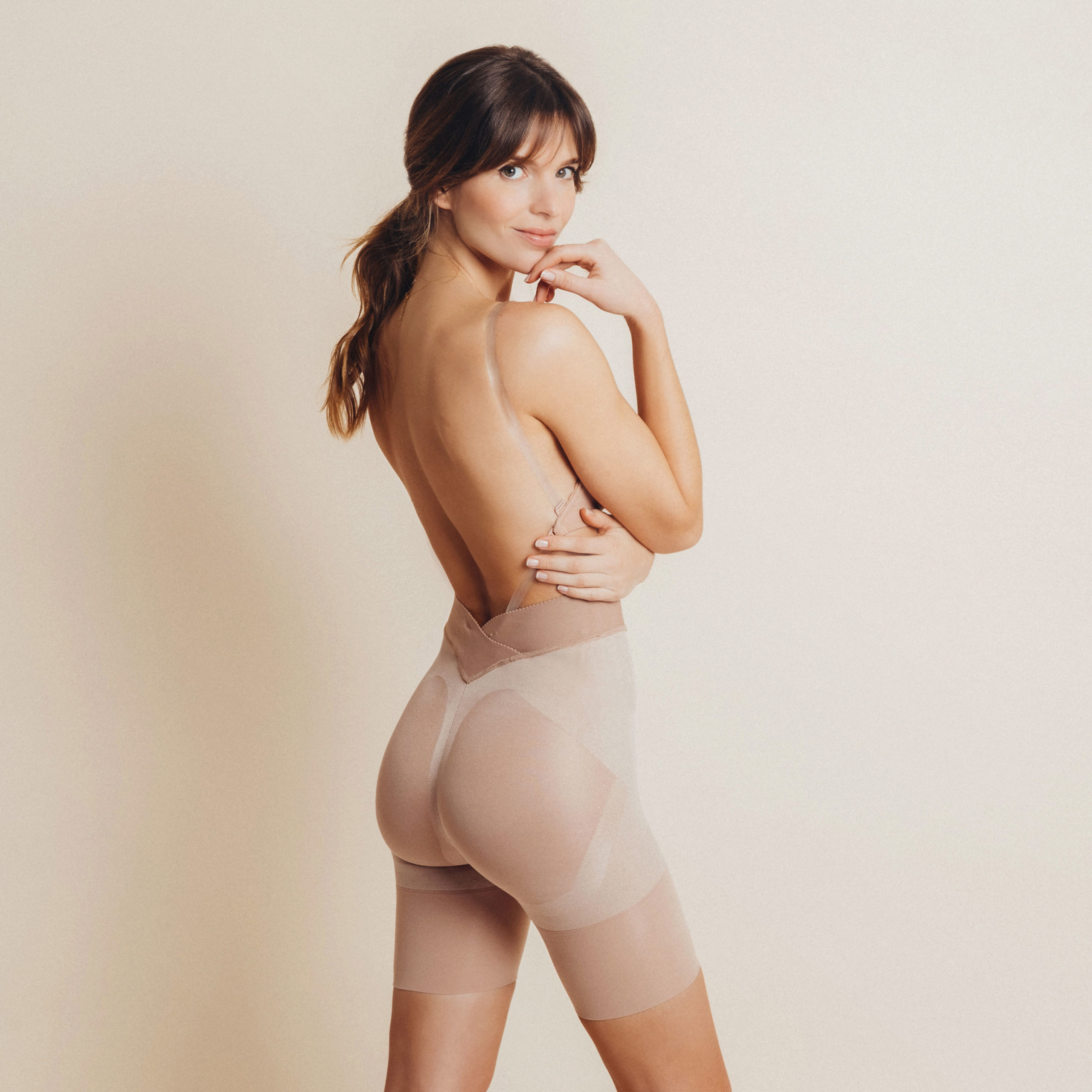 gaine ventre plat soutien gorge dos nu lingerie invisible mariage Back to Glam Elise Martimort