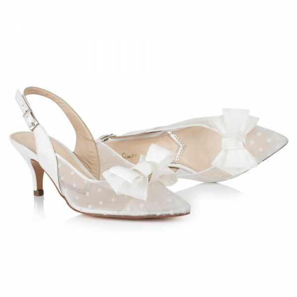 Rachel Simpson chaussures de mariee chaussures mariage pixie beau Elise Martimort