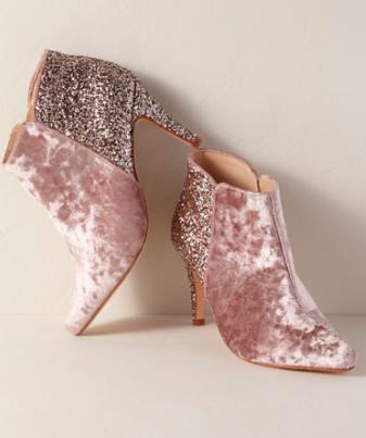 Rachel Simpson chaussures de mariee paillettes glitter chaussures mariage chaussure vintage