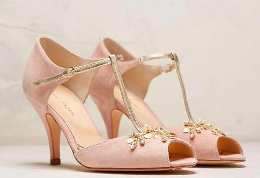 Rachel Simpson chaussures de mariee amalia chaussures mariage vintage Elise Martimort Chaussures femmes confortables et élégantes