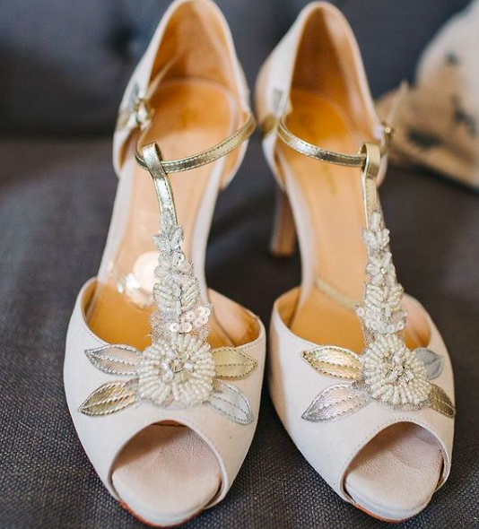 Rachel Simpson chaussures de mariee hermione chaussures mariage vintage Elise Martimort