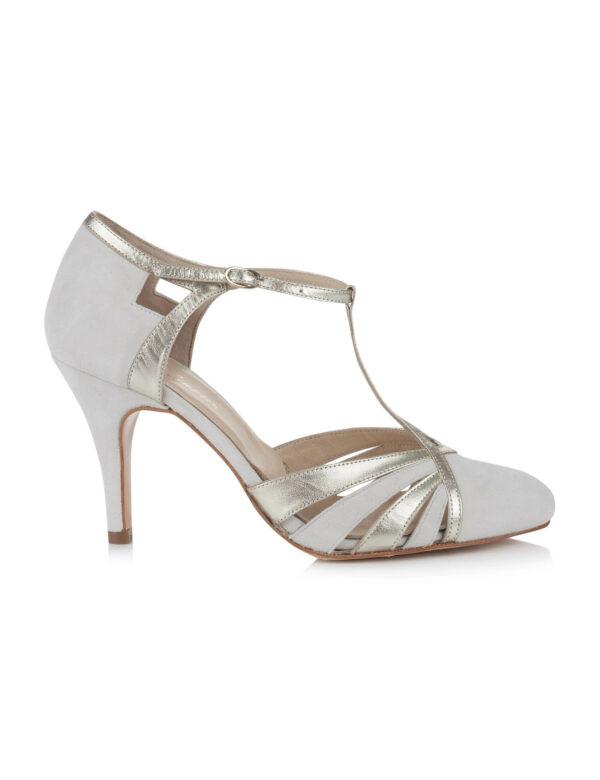Rachel Simpson chaussures de mariee paloma ivory chaussures mariage Elise Martimort