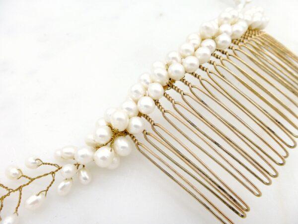 Peigne Gypsos les majestés accessoire cheveux mariage bijou mariee