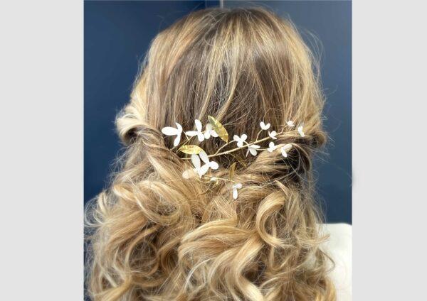 Couronne Jasmine les majestés accessoire cheveux mariage bijou mariee