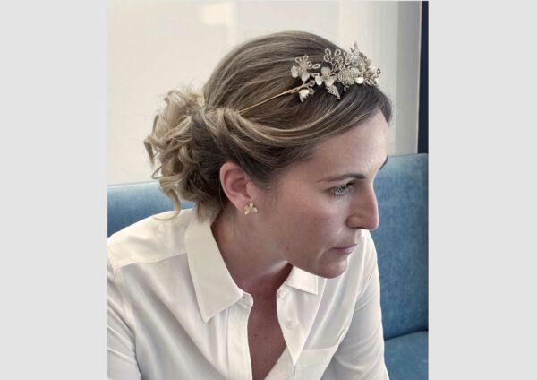 Couronne Kalis les majestés accessoire cheveux mariage bijou mariee
