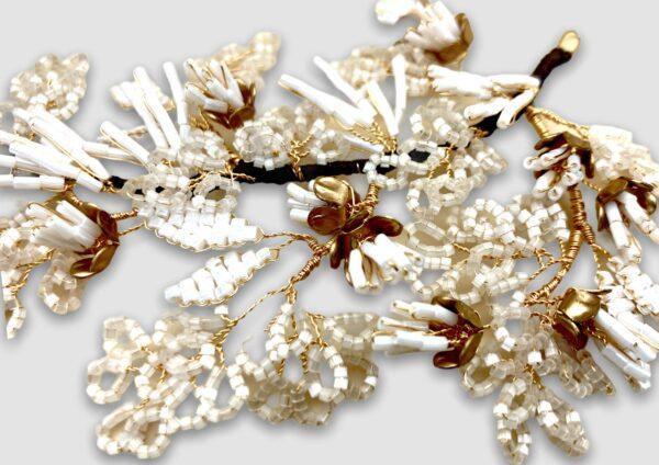Couronne Kenza Blanc les majestés accessoire cheveux mariage bijou mariee